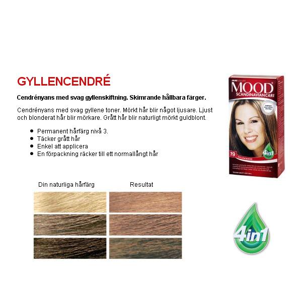 mood ljus askblond hårfärg