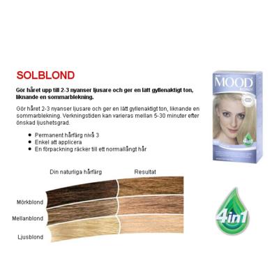 MOOD Solblond Nr 103