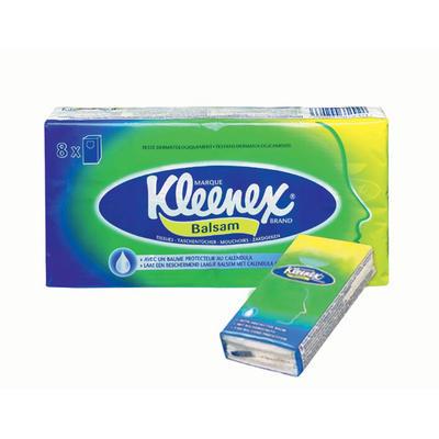 Kleenex Balsam Näsduk 8x9 dukar