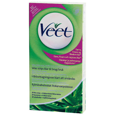 Veet Cold Wax Strips Torr Hud