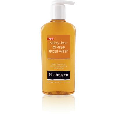 NEUTROGENA Visibly Clear Oil Free Facial Wash NYHET